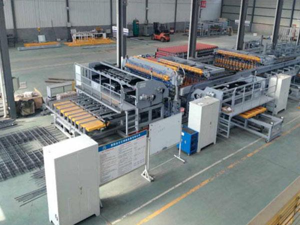 钢筋桁架楼承板生产线